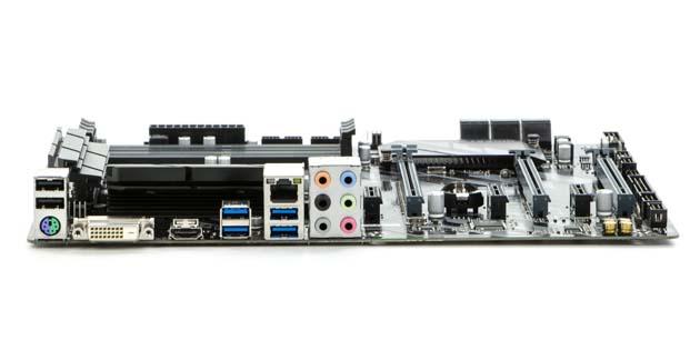 Gigabyte Z370 HD3-OP - tylny panel