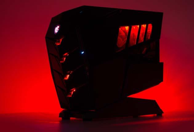 MSI Aegis 3 - podświetlenie