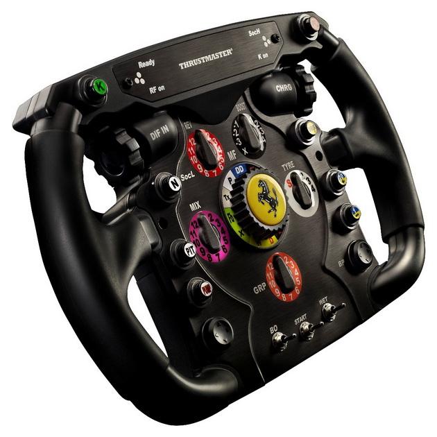 Thrustmaster Ferrari F1 Wheel Add-On - można wykorzystać z Thrustmaster BT LED Display