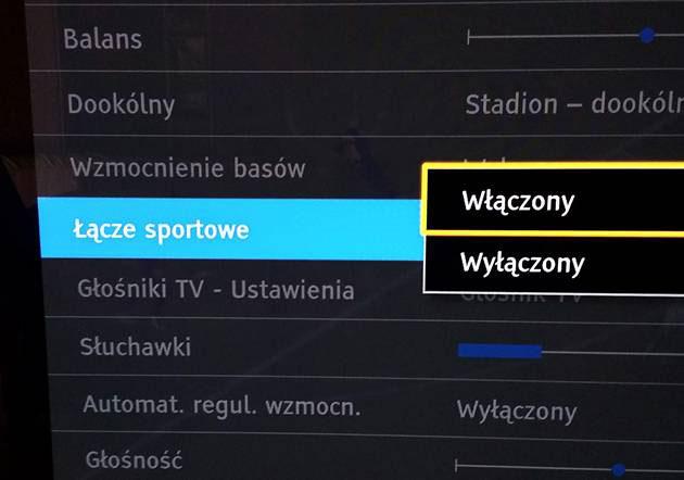 Łącze sportowe - Panasonic