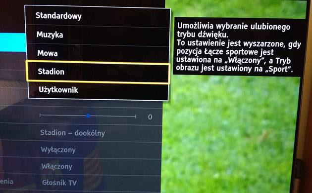 Tryb stadion - Panasonic