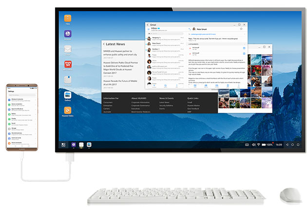 Huawei desktop PC mode EMUI