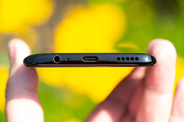 OnePlus 6 - USB-C, głośnik, wyjście słuchawkowe mini jack 3,5 mm