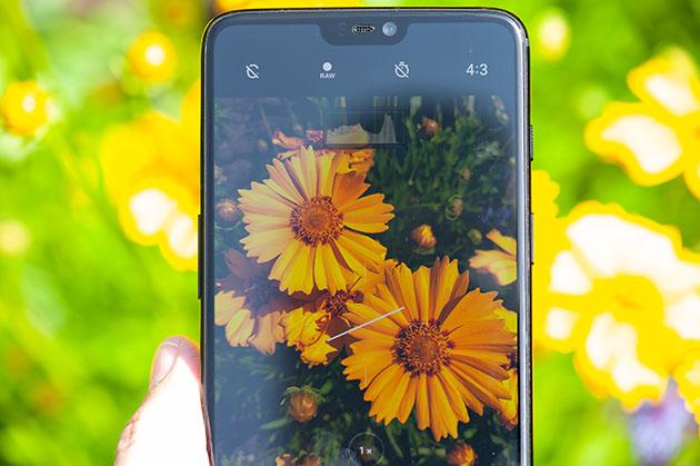 OnePlus 6 - ekran