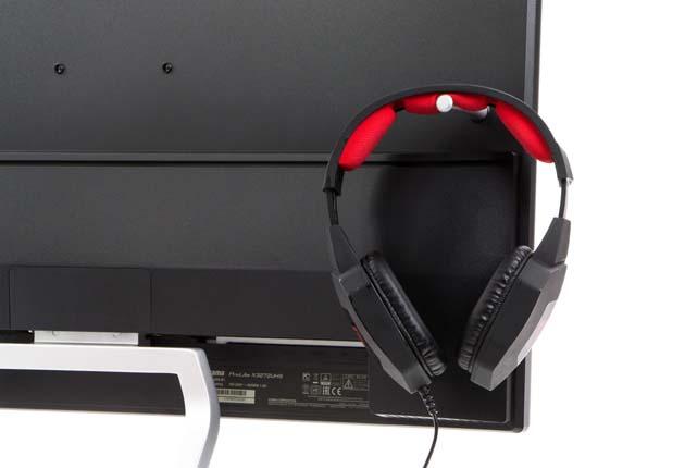 iiyama ProLite X3272UHS-B1 uchwyt na słuchawki