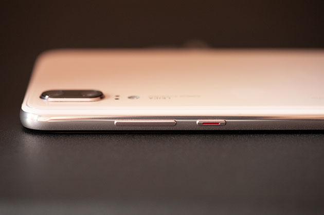 Huawei P20 - bok