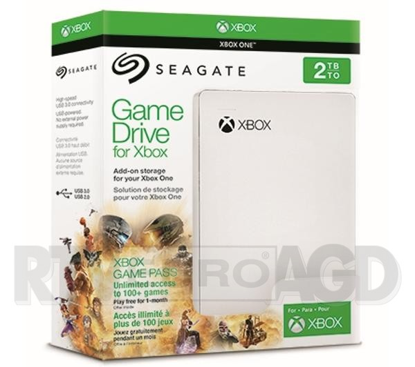 Gramy z RTV Euro AGD - Seagate GameDrive for Xbox + Xbox Game Pass