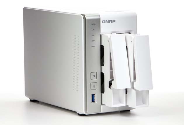 QNAP TS-231x - front