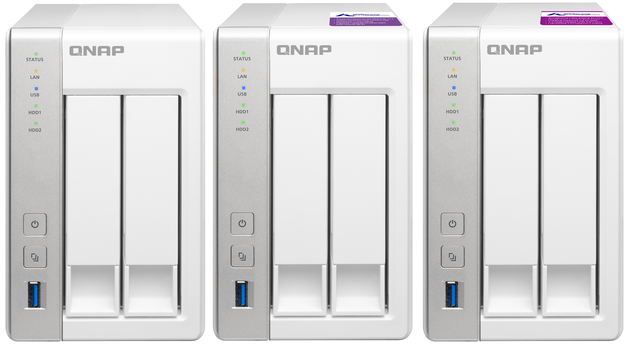 QNAP TS-231x - porównanie