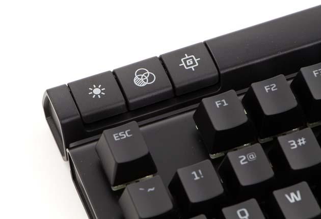 HyperX Alloy Elite RGB - klawisze funkcyjne