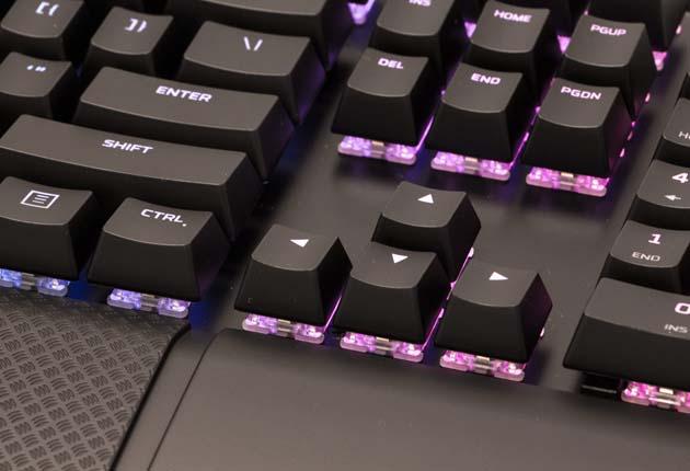 HyperX Alloy Elite RGB - klawisze strzałek