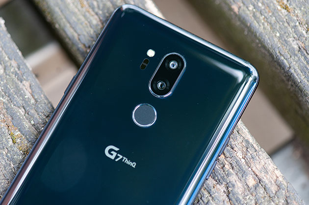 LG G7 - tył