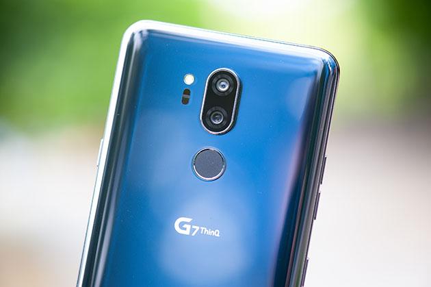 LG G7 - niebieski