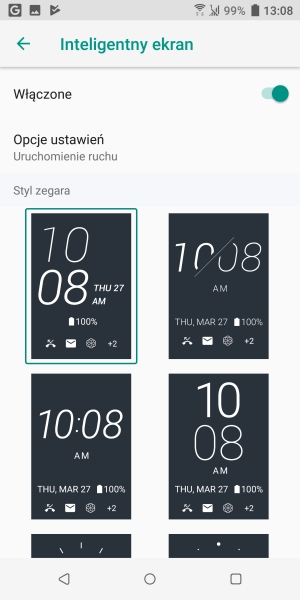 HTC U12+ inteligentny ekran