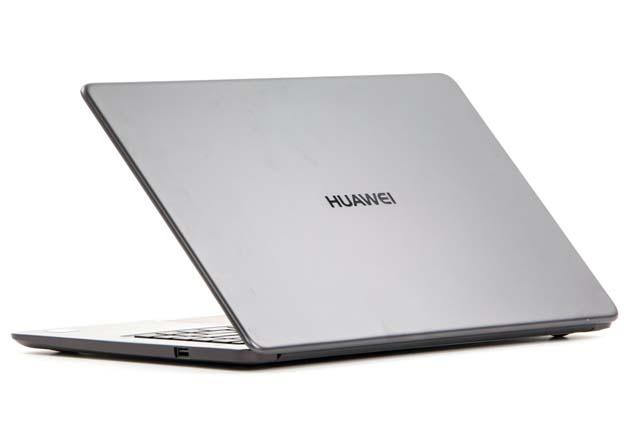 Huawei MateBook D profil tył