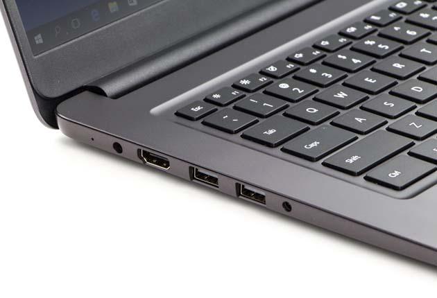 Huawei MateBook D lewy bok