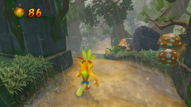 Crash Bandicoot N'Sane Trilogy - Crash z maską