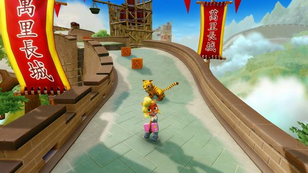Crash Bandicoot N'Sane Trilogy - Coco i tygrys
