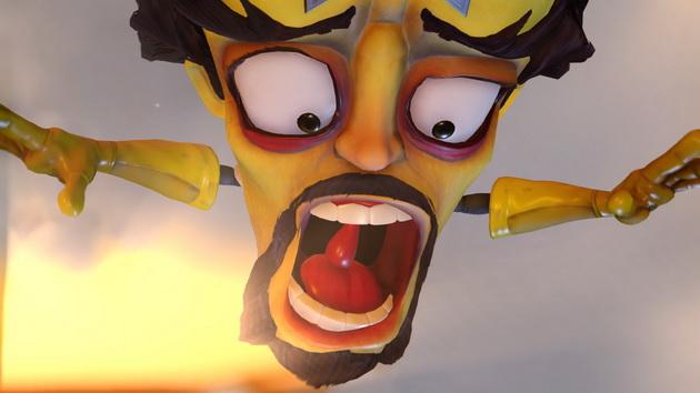 Crash Bandicoot N'Sane Trilogy - krzyk