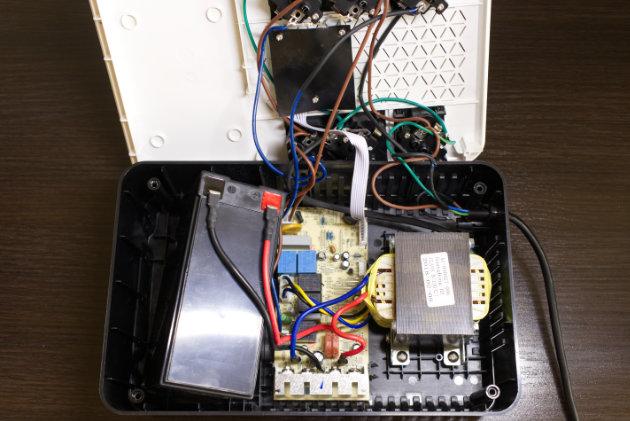 Legrand Keor Multiplug 800 VA z przesuniętym akumulatorem