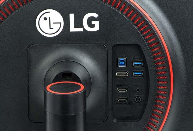 LG 27GK750F złącza
