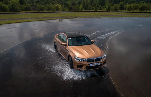 BMW M5 2018 600 KM