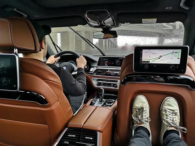 BMW M760 Li wnętrze