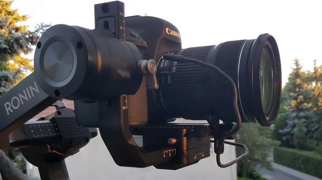 Dji Ronin-S - kabelek RSS-IR dedykowany aparatom marki Canon
