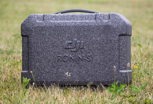 Dji Ronin-S - praktyczna walizka