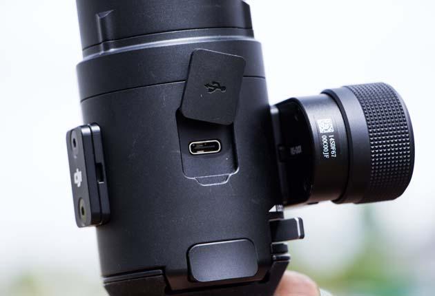 Dji Ronin-S - gniazdo USB-C