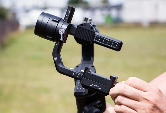 Dji Ronin-S - system mocowania aparatu
