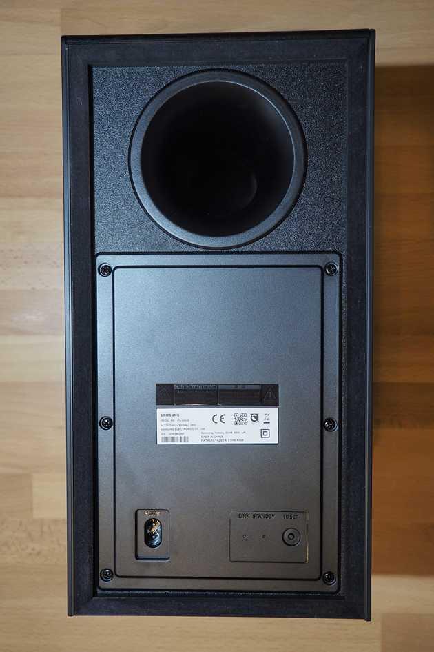 Samsung N650 - bass reflex