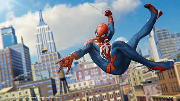 Spider-Man - biały kostium