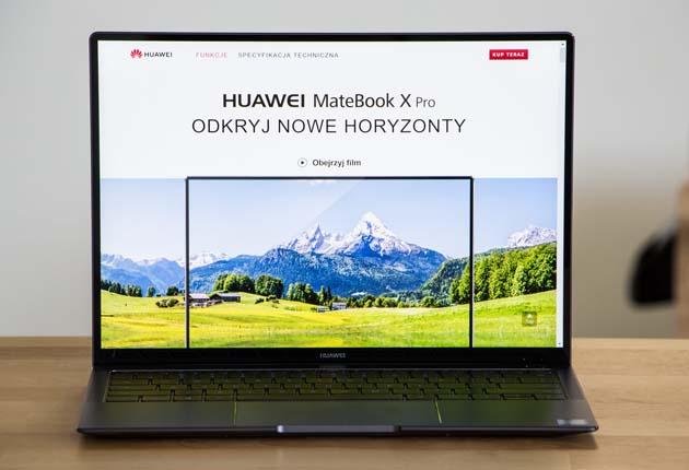 Huawei MateBook X Pro przód