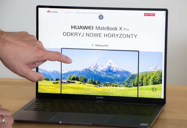 Huawei MateBook X Pro dotykowy ekran