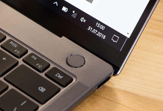Huawei MateBook X Pro czytnik linii papilarnych