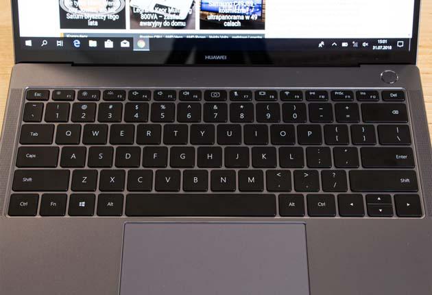 Huawei MateBook X Pro klawiatura
