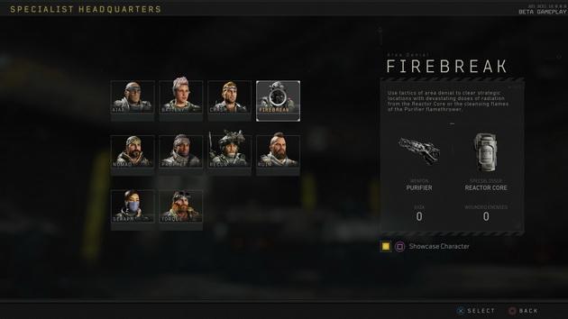 Call of Duty: Black Ops 4 beta - 10 specjalistów