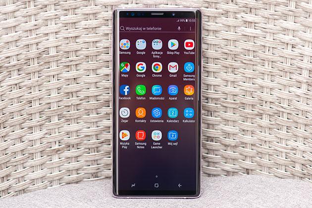 Samsung Galaxy Note 9 - duży ekran AMOLED