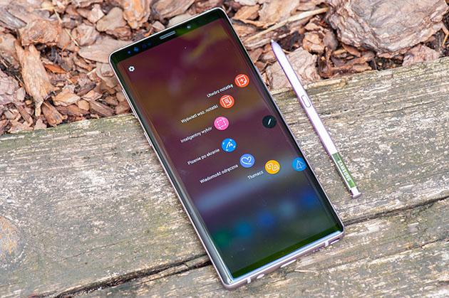 Samsung Galaxy Note 9 - telefon z piórkiem do notatek