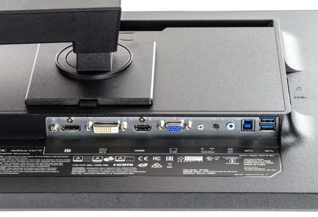 NEC MultiSync EA271F złącza