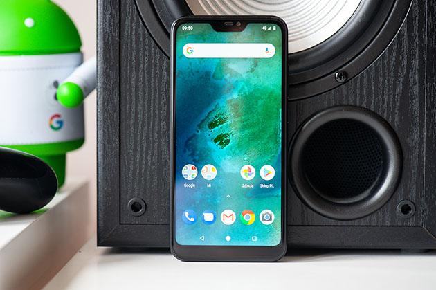 Xiaomi Mi A2 Lite - wyświetlacz