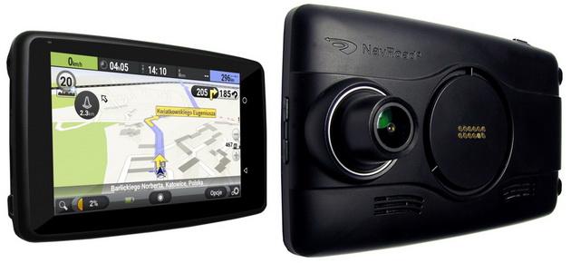 Nawigacje samochodowe - NavRoad Uni z wideorejestratorem