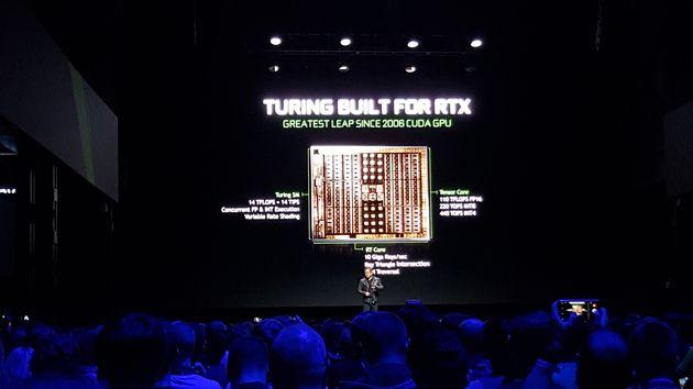 GeForce RTX - budowa układu Turing