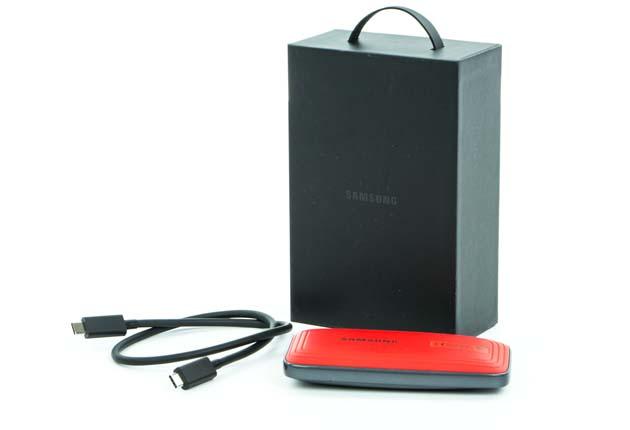 Samsung SSD X5 - pudełko