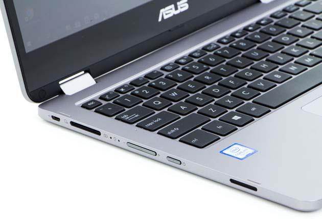 ASUS VivoBook Flip 14(TP401CA) lewy bok