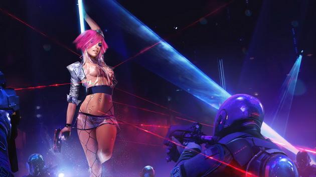Cyberpunk 2077 - cyberpunkowe klimaty
