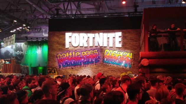Gamescom 2018 - Fortnite i tłumy