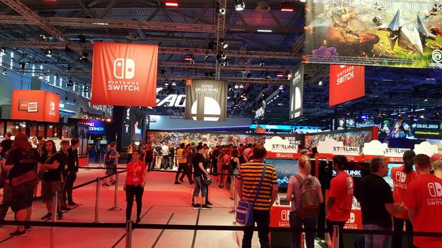 Gamescom 2018 - stoisko Nintendo