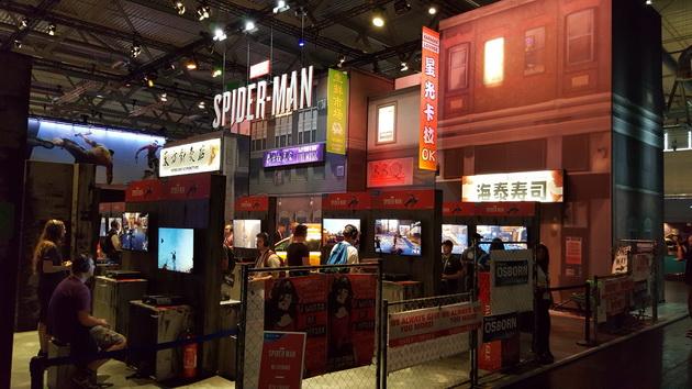 Gamescom 2018 - Sony i Spider-Man
